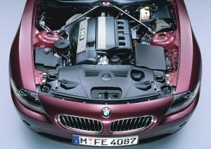 motor de un auto